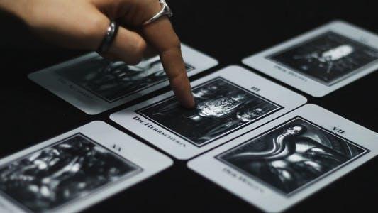 Thumbnail for Dark Tarot Cards