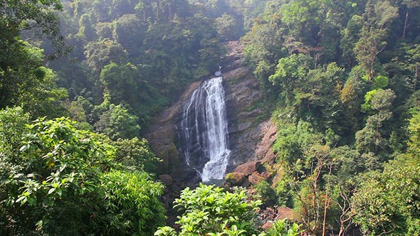 Thumbnail for Waterfall In Kerala State India