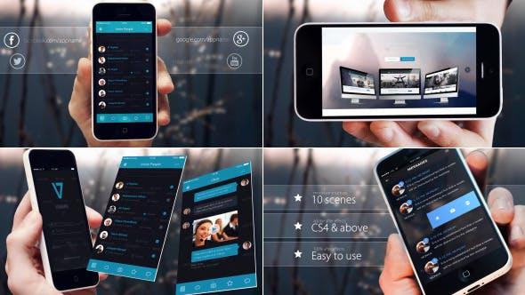 Thumbnail for Elegant Phone App Promo
