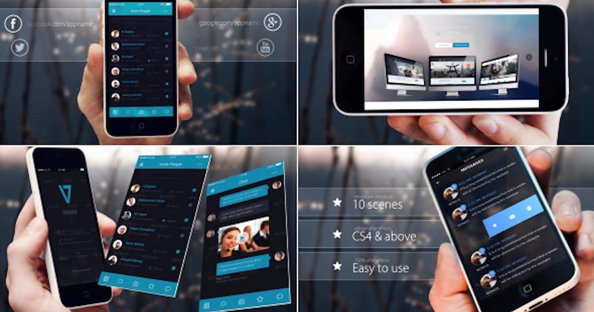 Download Elegant Phone App Promo by MJake