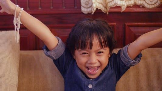 Little Girl Happiness