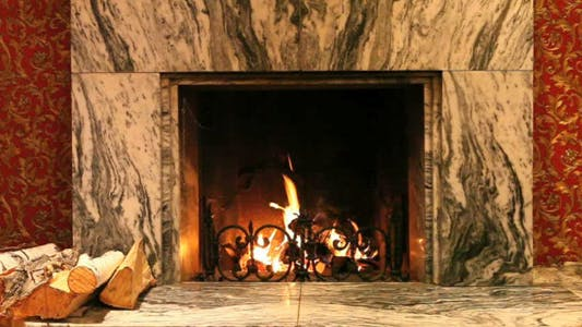 Thumbnail for Marble Fireplace
