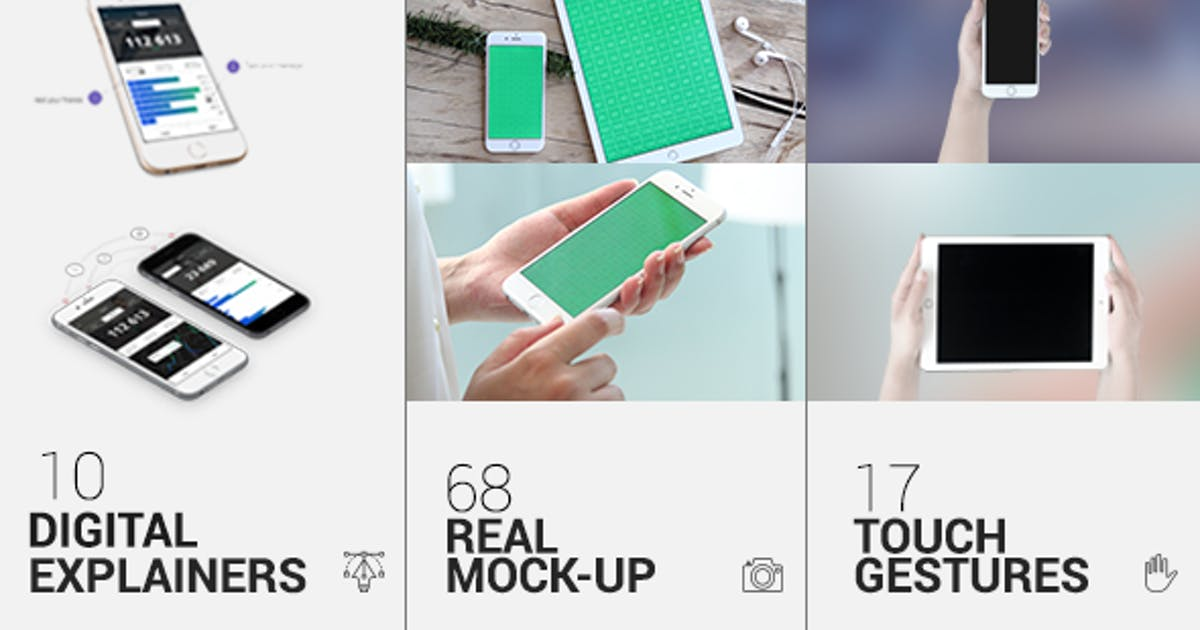 Download iTouch 2 | App Promo Mock-Up Kit by Pixflow