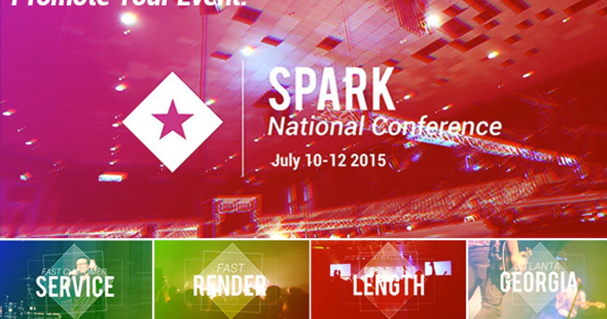 Download Event and Conference Promo by alex_watson
