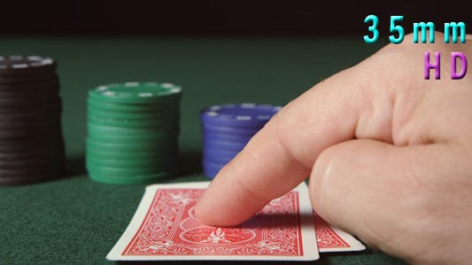Thumbnail for Poker Player Looks His Two Aces And Go All In 43
