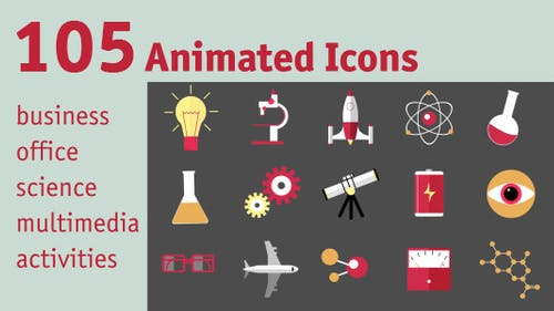 105 Animated Icons