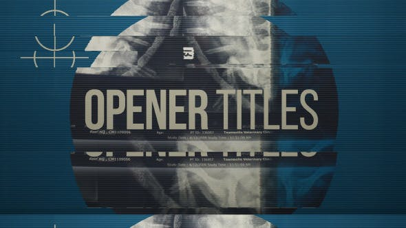 Thumbnail for Glitch Opener Titles