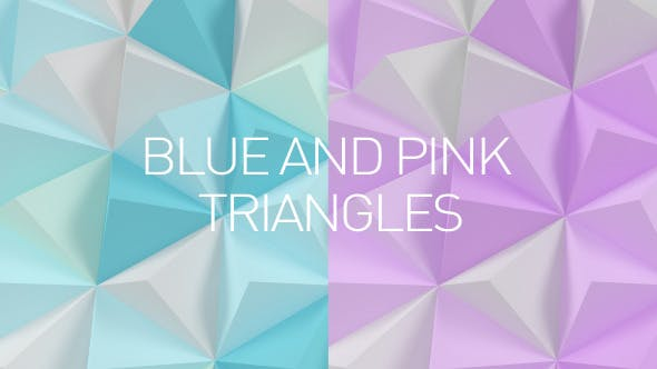 Thumbnail for Pastel Colored Low Poly Surface