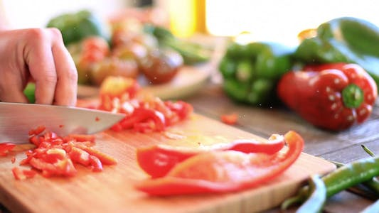 Thumbnail for Chopping Red Pepper