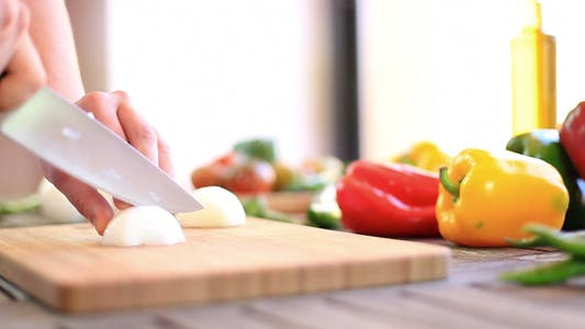 Thumbnail for Chopping Vegetables