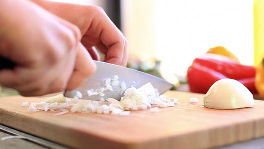 Thumbnail for Cutting Vegetables