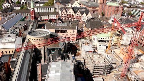Frankfurt Construction From Above