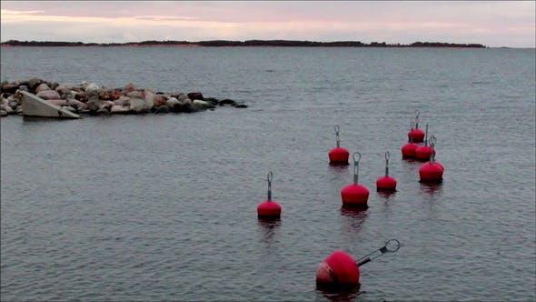 Thumbnail for Buoy Floating Near the Shore