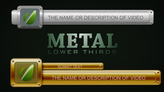 Thumbnail for Tercios inferiores de metal