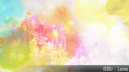 Colorful Ink Watercolor Background