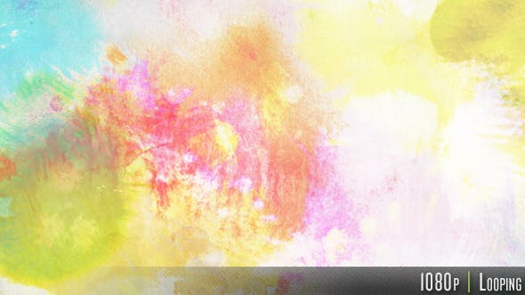 Cover Image for Colorful Ink Watercolor Background