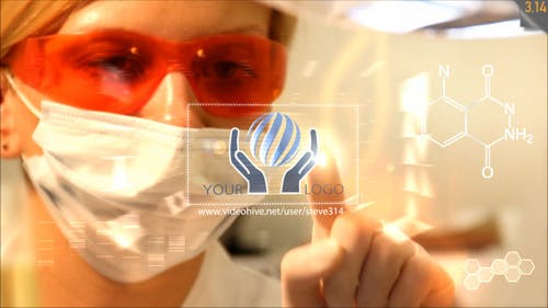 Medical Research Lab   Med Chemistry Logo Intro