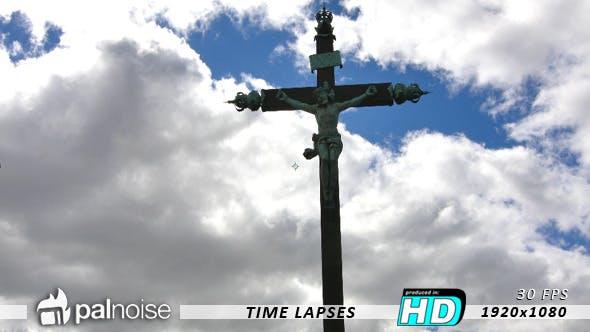 Thumbnail for Holy Christian Scene, Jesus JC on the Cross