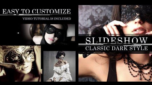 Thumbnail for Diaporama Classique Style Foncé
