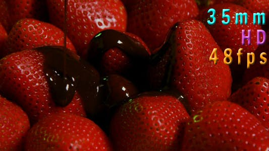 Thumbnail for Chocolate On Fresh Strawberries 01