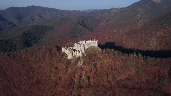 Thumbnail for Aerial View of Uhrovec Castle, Slovakia