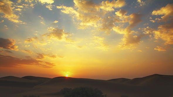 Thumbnail for Sunrise In Tar Desert India