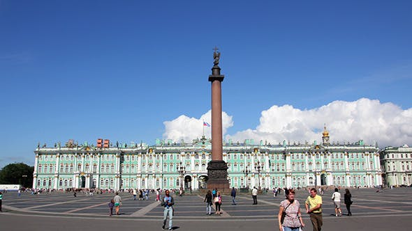 Thumbnail for Hermitage And Palace Square In St. Petersburg