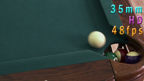 Balls Go To The Hole On A Pool Game 16