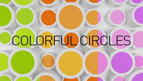 Cover Image for Background With Colorful Circles