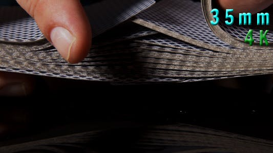 Shuffling Poker Cards 21