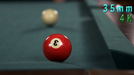 Thumbnail for Pool Table And Ball In The Corner Pocket 02