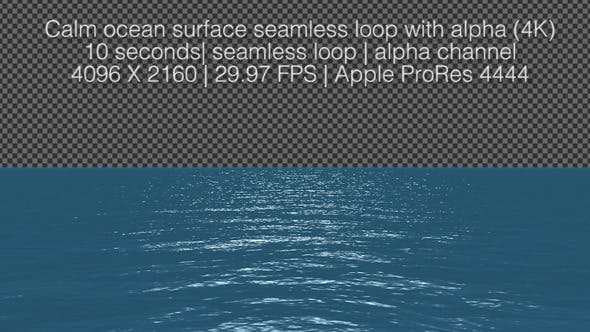 Thumbnail for Calm Ocean Surface