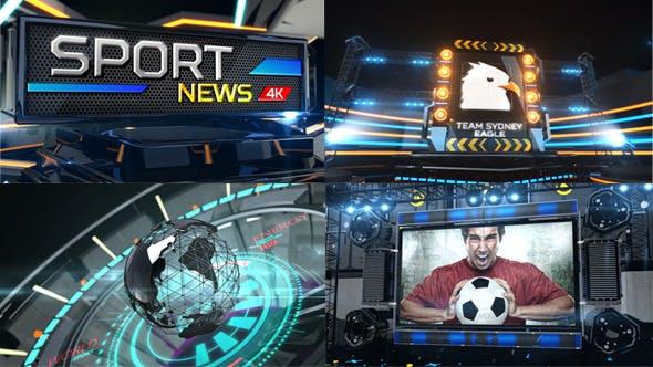 Broadcast Sport News