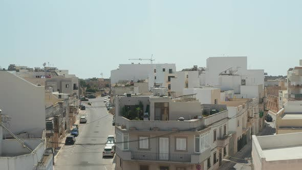 Thumbnail for Empty Ghost Town, Small Mediterranean City on Malta Island, No People During Coronavirus Covid 19