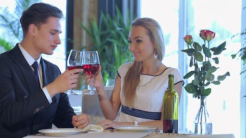 Amorous Celebratory Supper For Two