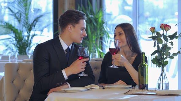 Thumbnail for Romantic Dinner In The Restaurant
