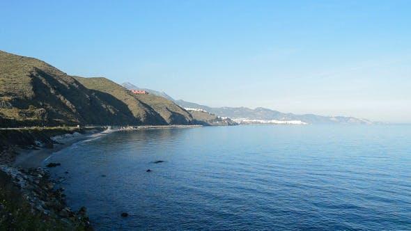 Beach of Mediterranean Sea