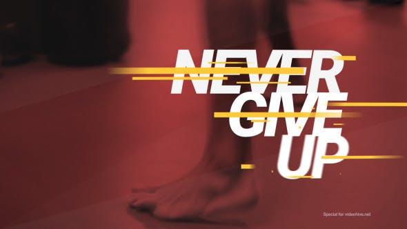 Thumbnail for Sport Motivational Dynamic Promo