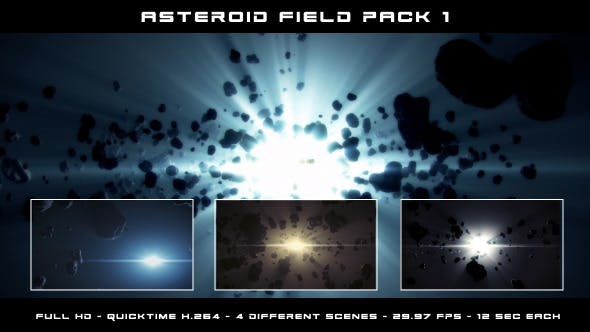Thumbnail for Asteroid Field Pack 1