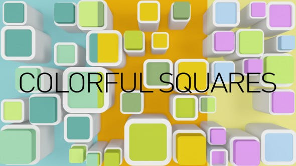 Thumbnail for Background Colorful Squares