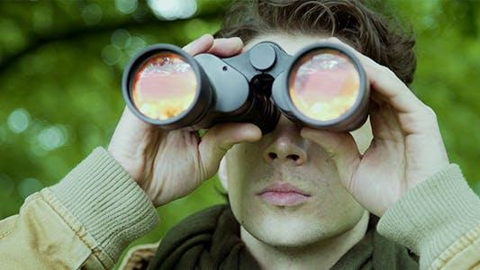 Thumbnail for Man With Binoculars