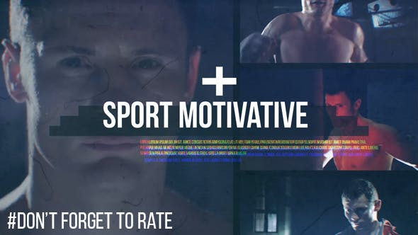Thumbnail for Motivatif sportif // Glitch dynamique