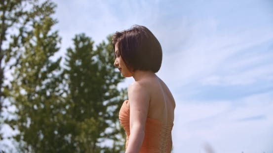 Thumbnail for Beautiful Young Romantic Woman