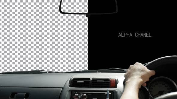 Thumbnail for Drive Car Alpha Channel Day