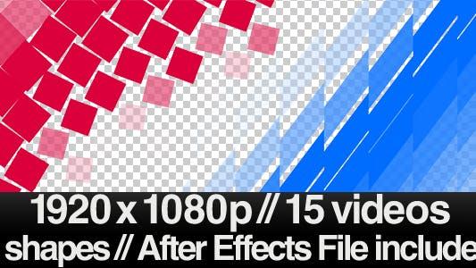 Thumbnail for 15 Videos of Elegant Transition Overlays + AE File