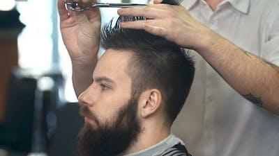 At the Barbershop