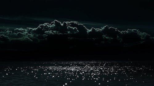 Moonlight on Clouds and Sea 2