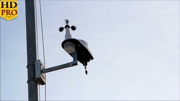 Thumbnail for An Anemometer Getting the Wind Speed