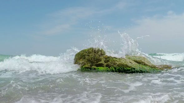 Thumbnail for Waves Breaking on the Stone