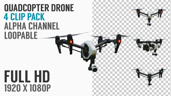Thumbnail for Quadcopter Drone Flying Pack